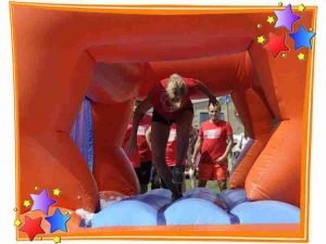 One of our Inflatable Obstacles