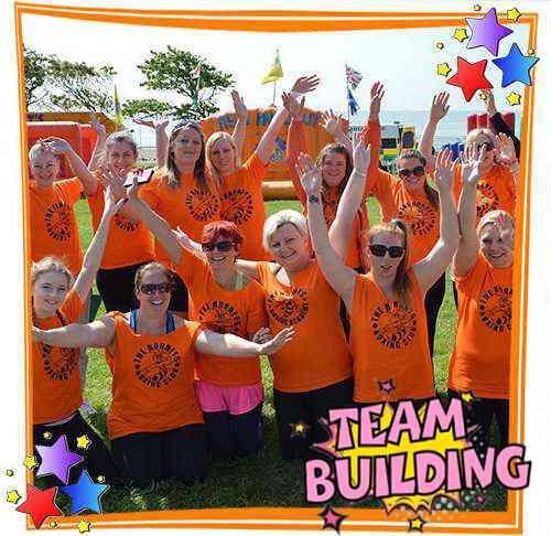 Team Building group shot