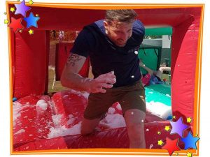 Bubble Cave Game on The Bronze It's A Knockout