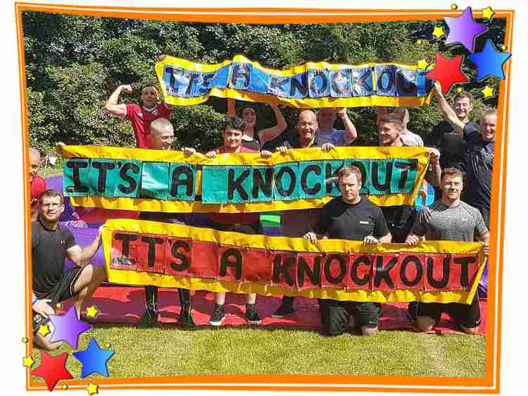 Scrambled it's A knockout Game